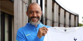 Mantan manajer Wolves Nuno EspiritoSanto resmi menjadi manajer Tottenham Hotspur. (Foto dari Livescore)