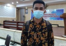 Foto: Rafael Malalangi yang namanya sempat hilang dari daftar casis Bintara Polri akhirnya dinyatakan lulus (dok Polda Sulut)