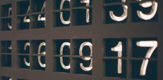 Ilustrasi angka mujur