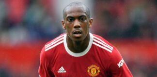 Striker Manchester United Anthony Martial. (Foto dari Sky Sports)