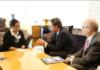 Menteri Luar Negeri AS Antony Blinken berbincang dengan Menlu Indonesia Retno Marsudi di Washington DC, Selasa (3/8/2021). (Foto dari Flickr).
