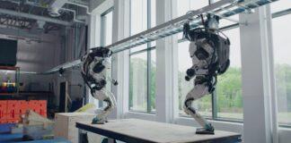 Robot Boston Dynamics Atlas berhasil dalam uji coba trek parkour.(bdtechtalks.com)