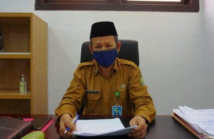 Kepala Dinas Kesehatan Kabupaten Lingga Abdul Mulkan Azima