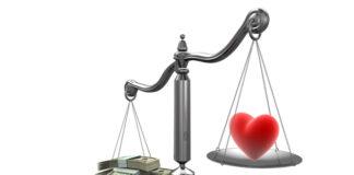 Ilustrasi uang dan cinta. Ramalan zodiak cinta dan keuangan besok Kamis 12 Agustus 2021. (Foto dari Voices of Youth)