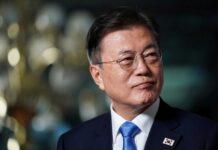 Presiden Korea Selatan Moon Jae-in di Washington, AS, 21 Mei 2021. (Foto: REUTERS/Sarah Silbiger/File Photo)