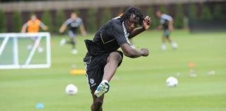 Romelu Lukaku saat masih berseragam Chelsea di periode pertamanya. (Foto dari chelseafc.com)