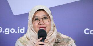 Siti Nadia Tarmizi, Direktur Pencegahan dan Pengendalian Penyakit Menular Langsung Kemenkes ri. (Foto: Twitter BNPB)