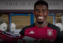 Bek tengah Inggris berusia 23 tahun Axel Tuanzebe kembali dipinjamkan untuk musim ini ke Aston Villa dari Manchester United. (Foto: avfc.co.id)