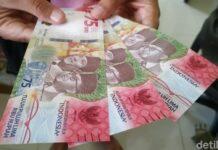 Uang pecahan Rp 75 ribu