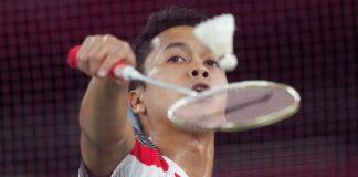 Anthony Ginting gagal ke final Olimpiade Tokyo 2020. (Foto: AP/Dita Alangkara)