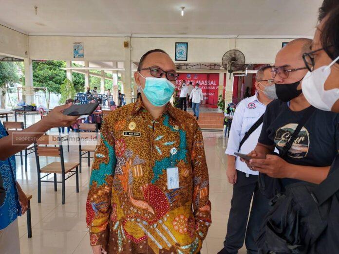 Foto Kadis Kesehatan Kepri, M Bisri. F.Slamet Nofasusanto