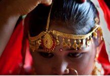 Unicef menemukan bahwa lebih dari 50 persen anak perempuan di Bangladesh menikah sebelum usia 18 tahun. (Foto: Twitter via SCMP)