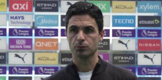 Sky Sports melaporkan bahwa Arsenal telah memecat Mikel Arteta setelah kekalahan 5-0 dari Manchester City di Etihad, Sabtu (28/8/2021). (Foto dari Arsenal.com)