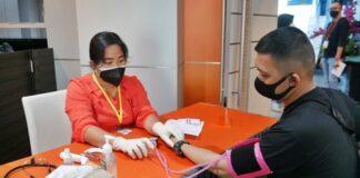 bright PLN Batam bersama Dinas Kesehatan Kota Batam kembali melaksanakan program vaksinasi Covid-19. Kegiatan ini diadakan di Kantor Korporat bright PLN Batam, pada Sabtu(7/8/2021)