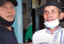 Kolase Abdul Rozak dan orangtua Kartika Damayanti, Madi (kolase SOsok.id)