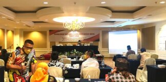 kegiatan Sosialisasi dan Lokakarya WBTB Tahun 2021 yang digelar oleh Balai Pelestarian Nilai Budaya Provinsi Kepri, bertempat di Harmoni One Convention Hotel & Service Apartement, Kamis (16/9/2021).