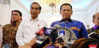 Ketua MPR Bambang Soesatyo menyebut parpol bersiap menghadapi 2024, sehingga kecil kemungkinan ada perubahan masa jabatan RI-1. (Foto: CNN Indonesia/ Feri Agus Setyawan)