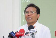 Staf Khusus Presiden Bidang Komunikasi Fadjroel Rahman. (CNN Indonesia/Feri Agus Setyawan)