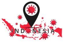 Ilustrasi virus corona yang merebak di Indonesia.(Shutterstock)