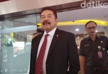 Foto: Jaksa Agung ST Burhanuddin (Wilda Hayatun Nufus/detikcom)