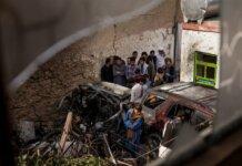 Dampak serangan drone AS di Kabul pada 29 Agustus 2021. AS akui serangan yang menewaskan 10 orang, termasuk 7 anak-anak, telah salah sasaran karena target tidak memiliki kaitan dengan ISIS-K yang melakukan bom bunuh diri di Bandara Kabul yang menewaskan setidaknya 60 orang ketika proses evakuasi. (Foto dari New York Times).