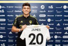 Leeds United menebus Daniel James dari Manchester United. (Foto talkSPORT)