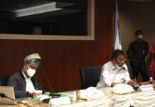 Kepala Badan Pengusahaan (BP) Batam Muhammad Rudi beserta jajaran, menerima kunjungan kerja Panja Komisi VIII DPR RI, pada hari Jum'at (3/9/2021), bertempat di Marketing Center BP Batam.