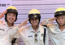 Unggahan foto tiga pemuda menamakan diri Warkopi yang disebut-sebut mirip personel Warkop DKI. (Foto: (Instagram)