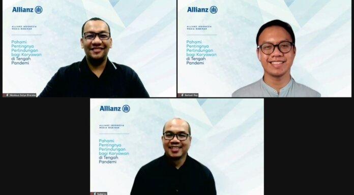 Webinar Media Allianz Indonesia bertajuk _Pahami Pentingnya Perlindungan bagi Karyawan di Tengah Pandemi. foto Ist