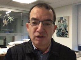 Kepala eksekutif Moderna Stephane Bancel meramalkan pandemi Covid-19 akan berakhir pada paruh kedua tahun depan. Juga mengatakan bahwa suntikan booster Moderna memiliki setengah dosis dari dosis aslinya, yang berarti lebih banyak dari mereka akan tersedia. [FOTO: SCREENGRAB DARI ST VIDEO]