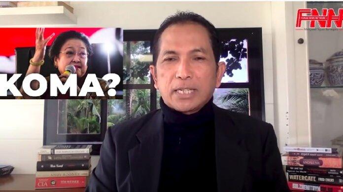 Hersubeno Arief (Foto: tangkapan layar Youtube/Youtube Hersubeno Arief Point)
