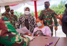 Wali Kota Tanjungpinang, Rahma mengapresiasi pelaksanaan vaksinasi anak usia 12-17 tahun dari Korem 033/Wira Pratama Tanjungpinang.