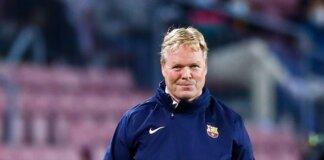 Pelatih Barcelona Ronald Koeman. (Livescore)