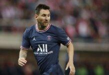Penyerang PSG Lionel Messi diharapkan pulih tepat waktu untuk menjamu Manchester City di Paris. (Sportsmole)