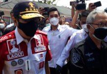 Menkumham Yasonna Laoly tinjau Lapas Kelas 1 Tangerang (Nahda/detikcom)
