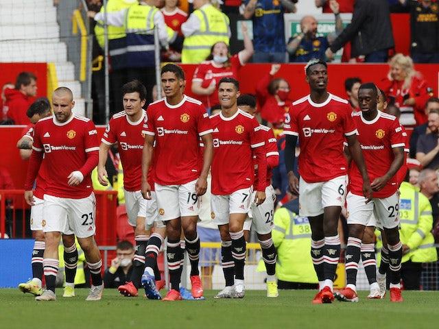 Para pemain Manchester United saat menang 4-1 atas Newcastle United. (Sportsmole)