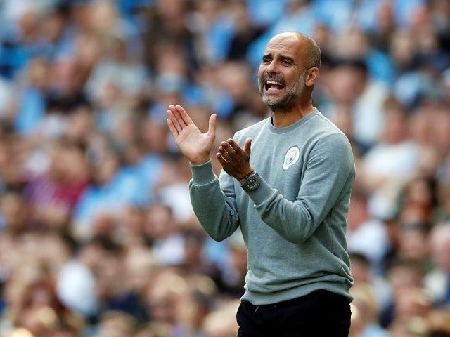 Manajer Manchester City Pep Guardiola. (Sportsmole)