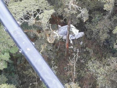 Pesawat Rimbun Air PK-OTW jatuh di Gunung Wabu, Sugapa, Kabupaten Intan Jaya, Papua, Rabu (15/9/2021)