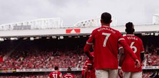 Cristiano Ronaldo langsung berbicara tentang gelar untuk Manchester United usai debut keduanya saat melawan Newcastle United di Old Trafford. (manutd.com)