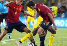 Spanyol ditaklukkan 2-1 oleh Swedia pada kualifikasi Grup B Piala Dunia 2022. (Marca)