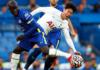 N'Golo Kante (kiri) berduel dengan Son Heung-min. Pada pertemuan terakhir kedua tim di Tottenham Hotspur Stadium, Chelsea meraih kemenangan 1-0 berkat gol tunggal dari penalti Jorginho pada menit ke-24. (Foto: tottenhamhotspur.com)