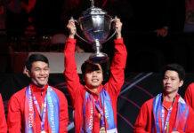 Indonesia menjuarai Thomas Cup 2020 setelah penantian 19 tahun. (Foto: BWF)