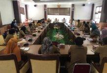 Suasana RDP Komisi IV DPRD Batam bersama sejumlah Kepala Puskesmas, Selasa (19/10/2021).