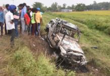 Polisi India menangkap anak seorang menteri karena diduga terlibat pembunuhan empat petani. (Foto: AP)