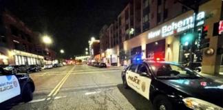 Baku tembak di sebuah bar di St. Paul, Minnesota, AS, Minggu (10/10/2021) pagi, menewaskan satu orang dan 14 lainnya terluka. (NBC News).