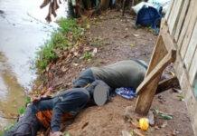 Dua warga tewas tersambar petir di Desa Timbuseng, Kecamatan Pattallassang, Kabupaten Gowa, Sulawesi Selatan, Selasa (19/10/2021) sore. (Foto dari tvonenews.com)