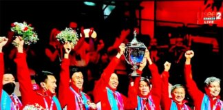 Tim Piala Thomas Cup Indonesia. (ist